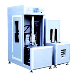 semi-auto small pet bottle blow moulding machines