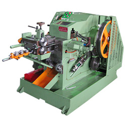semi tubular rivet machine