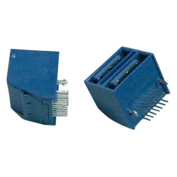 serial ata 7 plus 7p stack connector