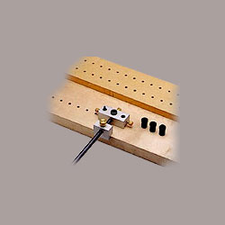 shelf boring jig