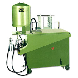 shell moulding and core blowing machine