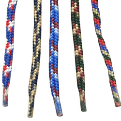 heavy duty tubular shoelace lanyards
