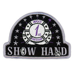 show hand embroidered patches