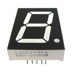 "1.20"" single digit numeric displays"