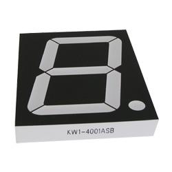 "4.0"" single digit numeric displays"