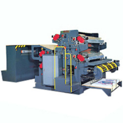 single side 3 6 color printing machine