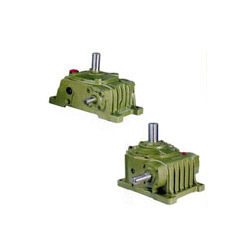 single stage vertical worm gear reducer