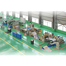 slitting line thin steel