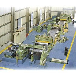 slitting lines middle size steel