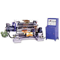 slitting machine for packaging materials
