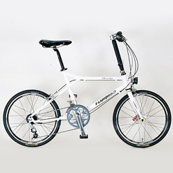 small wheel city bicycle