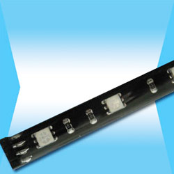 smd epoxy cover led flexible strip with pin