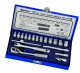 "1/4"" Dr.19pc Socket Wrench Sets-6PT"