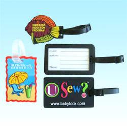 soft pvc bag tag