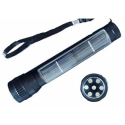solar energy flashlight