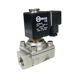 2/2 Way Solenoid Valves Stainless Steel Sus316 Direct Acting