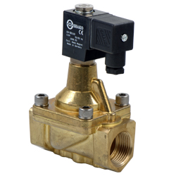 2/2 Way Pilot Acting Steam Brass Solenoid Valves