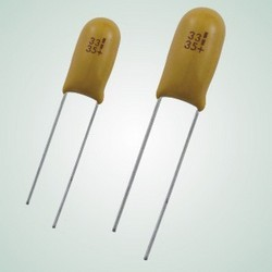 Epoxy-coated Solid Electrolyte Tantalum Capacitors