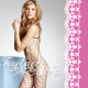(toylace) Spaghetti Strap Fence Net Bodystockings