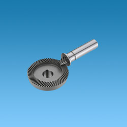 spiral bevel gear for pneumatic tools