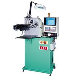 cnc 2 axes garter spring coiling machine