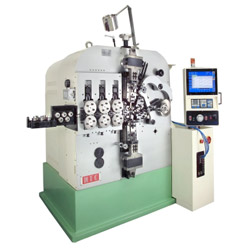 cnc 4 axes spring coiling machine