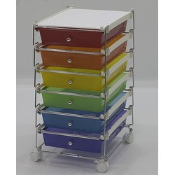 stackable hand drawer carts