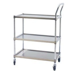 stainless industrial carts