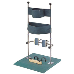 stainless steel vertical standing support