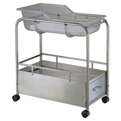 stainless steel baby beds