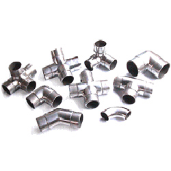 stainless steel handrail fitting