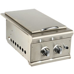stainless steel side burners