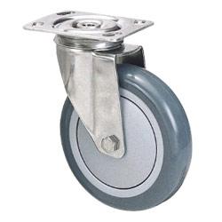 stainless steel swivel castor wheel