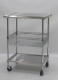 Stainless Steel Top Chef Work Table Trolleys(Kitchen Racks)