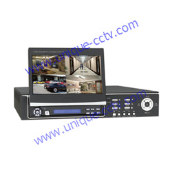 stand alone dvr integrated with lcd monitor