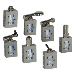 5/2 Way Mini Mechanical Valves