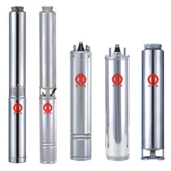 steel deep well submersible pump