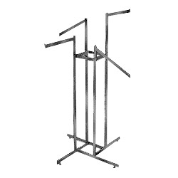 steel display racks