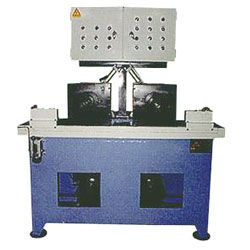 steel tube sealing and beaming machine