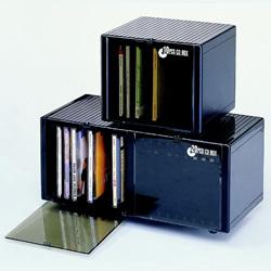 storage box of 10pcs cd in jewel case