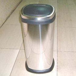 straight square press bin