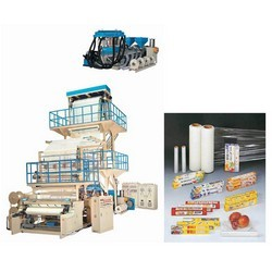 stretch film and cling film making machines