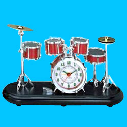 super sharp drum alarm clocks