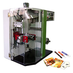 table type vertical automatic packaging machine
