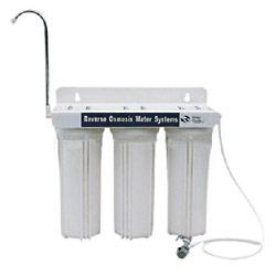 three cartridge water purifier
