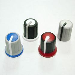 three color knobs