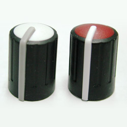 three color knobs