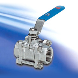 three-piece full port ball valves