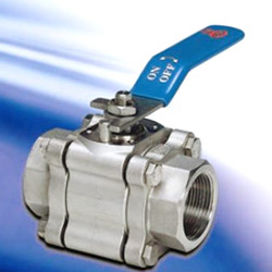 three-piece heavy duty ball valves