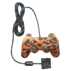 tiger fur camouflage joysticks for ps2